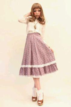 Dolly kei. Love the skirt