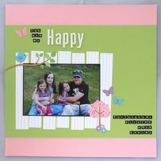 I have another scrapbook page for Mystical Scrapbooks to share today. We are having a Cyber Crop this weekend and there will be challenges. My Scrapbook, Scrapbooking Layouts, Scrapbooks, Cyber, Challenges, Spring, Happy, Summer, Summer Recipes