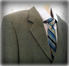 men's Sport coat men's blazer men's sports by JohnnysApparel Blazer Outfits Men, Mens Fashion Blazer, Mens Sport Coat, Sport Coats, Dress Slacks, Older Men, Blazers For Men, Sports Jacket, Dress Styles