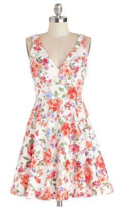 Good Things Arose Dress Modcloth