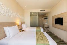 2 Single Beds Room at Holiday Inn Express Semarang Simpang Lima with Free Express Breakfast and Free Wi-Fi