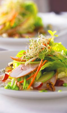 Royal Caribbean Dining | The answer is yes: you can have luxury and quality. Eat up and eat well with fresh crisp vegetables, leafy greens, and fresh food onboard all Royal Caribbean ships.