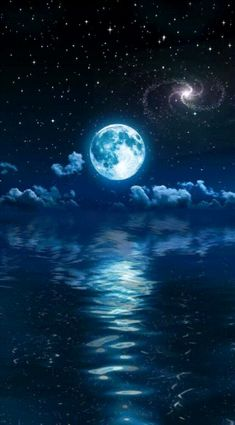 #OfficialGifs #Minds #Gifs #Art | Minds Mystic Wallpaper, Ocean Wallpaper, Free Android Wallpaper, Wallpaper Iphone Cute, Water Photography, Landscape Photography, Moon Over Water, Sky Gif, Ocean At Night