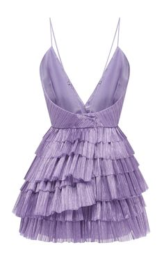 Shop Don't Be Shy Pleated Shell Dress . A part of the brand's Resort collection, Alice McCall's pleated mini dress has a plunging V-neckline. Trendy Dresses, Short Dresses, Fashion Dresses, Prom Dresses, Look Fashion, High Fashion, Mode Vintage, Mode Inspiration, Looks Style