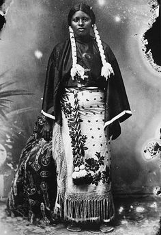 Black Indian Woman by DarkVictory19, via Flickr