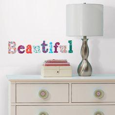 Room Mates Boho Alphabet Peel and Stick Wall Decals   | Wayfair