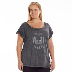 Rock & Republic® Star Wars Embellished R2-D2 Tee - Women's Plus Size