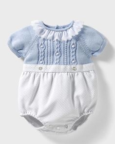 Knitted Baby Clothes, Knitted Romper, Cute Baby Clothes, Fashion Kids, Baby Girl Fashion, Baby Boy Romper, Baby Cardigan, Baby Boy Outfits, Kids Outfits