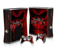 Warrior Kings Battles Xbox 360 Skin - Xbox 360 - Ideas of Xbox 360 - Warrior Kings Battles Xbox 360 Skin for Xbox 360 slim Console and Controllers Overwatch Xbox, Xbox 360 Console, Xbox One Skin, Console Styling, Warrior King, Ps4 Skins, Xbox 360 Games, Pokemon Fusion, Super Smash Bros