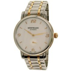 Montblanc Women's Star Classique 107915 Silver Gold Swiss Automatic Watch