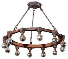 One Kings Lane - Form Meets Function - 12-Light Pipe Coupling Chandelier