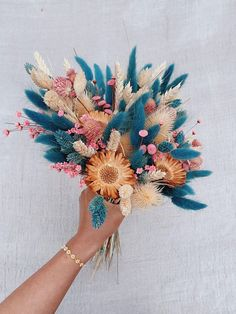 Dried Flowers Bouquet Wedding Ceremony Music Ideas First Night Gift Fo – orangetal Dried Flower Bouquet, Dried Flowers, Blooming Flowers, Wedding Bouquets, Wedding Flowers, Wedding Colors, Flower Aesthetic, Aesthetic Drawing, Spring Aesthetic