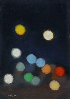colorful art pois dots Postcards from Detroit — Citylights #92 by Stephen Magsig