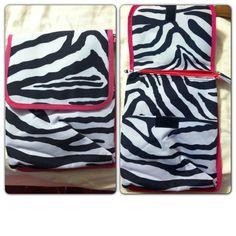 Pink and Zebra iPad case