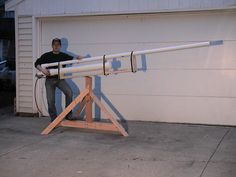 pvc weapons | Check out the coolest looking spud guns and potato cannons!