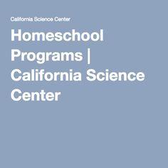Homeschool Programs