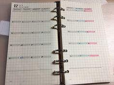 さて先日の記事で予告したとおり、最近使い始めたシステム手帳の中身を本日は晒してみます。 バレットジャーナル…もどき、です。 下手にあれこれ喋りだすとまた前と同じ事言いだしたりするんで、今日は中身の話だけをちゃちゃっと。 Study Notes, Filofax, Hand Lettering, Diy And Crafts, Stationery, Notebook, Bullet Journal, Writing, How To Plan