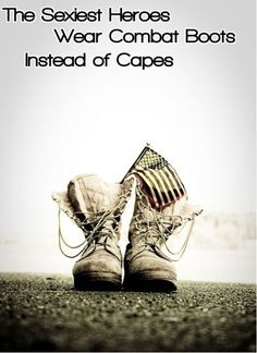 the sexiest heroes wear combat boots instead of capes... or high heels!