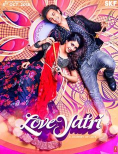 """Movie """"Love Yatri Released"""" Date: 5 October 2018 Stars: Aayush Sharma, Warina Hussain, Caroline Plot: Sushrut garba teacher, who falls in love with NRI girl Michelle when she visits town during festival Horror Movies Online, Watch New Movies Online, Hindi Movies Online Free, Download Free Movies Online, Music Download, Best Bollywood Movies, Watch Bollywood Movies Online, Bollywood Couples, Bollywood Fashion"""