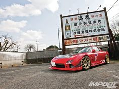 1996 Mazda - Redheaded Stepchild Built for the purest form of enjoyment—not to set lap records. Tuner Cars, Jdm Cars, Rx7, Step Kids, Import Cars, Japan Cars, Street Racing, Dream Garage, Car Manufacturers