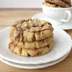 Peanut Butter and Nutella Cookies :9:9