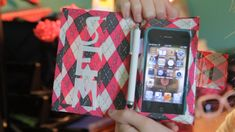 DIY Tutorial - Make an Inexpensive Duct Tape Case for Your iPhone, iPod ...