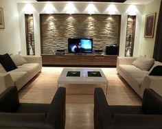 modern livin room | wanting a formal living room, this four pieces modern living room ...
