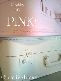 Creative Ideas ... cottage style: Pretty In Pink!