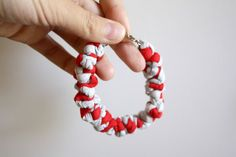 SALE zic zac bracelet by ganbayo on Etsy