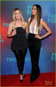 df734417601 Ashley Benson and Shay Mitchell at the FreeForm Upfronts 2017 Pretty Little  Liars Characters