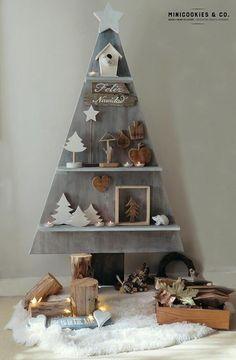 Möchtest du einen Weihnachtsbaum, den wirklich noch niemand hat? Schau dir schnell diese 12 besonderen Weihnachtsbäume an! - DIY Bastelideen