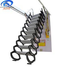 Henan Youpin Home Ladder Co. Folding Attic Stairs, Attic Ladder, Attic Loft, Roof Hatch, Hatch Door, Air Ventilation, Best Insulation, Wooden Case, Steel Frame