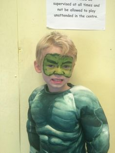 Iron Man face painting   superhero face paint   Pinterest ...