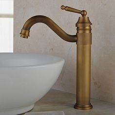 brushed brass bathroom faucet. Hiendure Centerset Single Handle Antique Brass Bathroom Vanity Sink Lavatory Faucet Brushed A