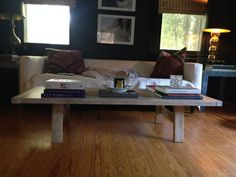 Xander Salvaged Reclaimed Wood Look Coffee Table by YoureUnique