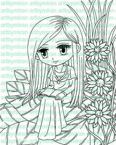 Digital Stamp  Sweet Ponderings191 Digi Stamp by artbymiran