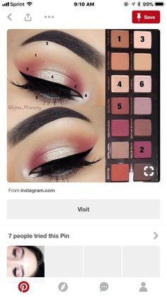 Pin by Bianca Castelar on Pictorials in 2019 Crazy Eye Makeup, Makeup Eye Looks, Eye Makeup Steps, Beautiful Eye Makeup, Simple Eye Makeup, Pretty Makeup, Love Makeup, Makeup Inspo, Makeup Inspiration