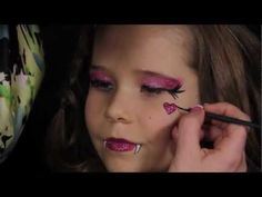 Monster High Draculaura makeup tutorial!! feel free to re-pin!! :)