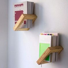 """Shelving with a twist! Shelf 1.P gives a unique floating effect. Handmade in…"