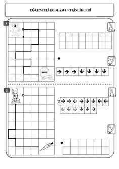 Worksheets For Kids, Kindergarten Worksheets, In Kindergarten, Robots For Kids, Math For Kids, Science Activities For Kids, Book Activities, Coding Classes For Kids, Printable Board Games