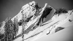The zone is a Squaw Valley bucket list item for the serious skier. Mountain Mural, Mount Everest, Skiing, Ocean, Mountains, Travel, Image, Ski, Viajes