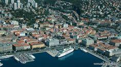 Przemysłowe ale i turystyczne miasto regionu Kwarner w Chorwacji http://www.chorwacja24.info/kvarner/rijeka #rijeka #kvarner #croatia
