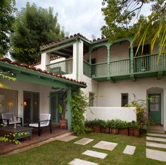 terraza o corredores exteriores lindos....la opción madera resulta de alto…