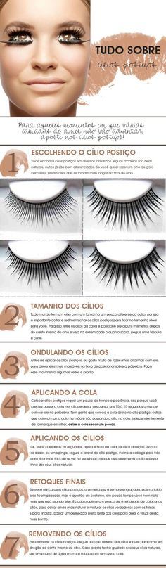 Tutoriel de maquillage : Description Get all your questions about false eyelashes. See how to put false eyelashes properly and how best to remove. Diy Beauty, Beauty Makeup, Beauty Hacks, Hair Makeup, How To Make Hair, Eye Make Up, Love Makeup, Makeup Tips, Home Design