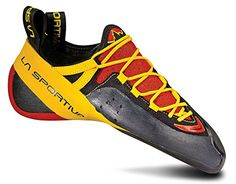 Climbing-La Sportiva Genius Shoe - Men's Red 42.5 ** See this great product.