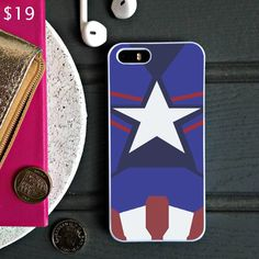 Captain America Age of Ultron New Costume - iPhone 6 Case, iPhone 5S Case, iPhone 5C Case plus Samsung Galaxy S4 S5 S6 Edge Cases - Shadeyou - Personalized iPhone and Samsung Cases