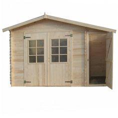 Abri de jardin en bois Marceau modèle 7 m ² - Madeira - CMJ888002