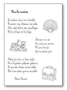 Poésie Pour la rentrée Pierre Ruaud