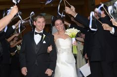Wedding Day Exit | Allen & Karen Wedding Photography | As Seen on TodaysBride.com