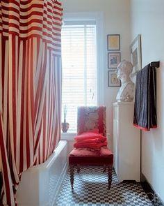 шторы и кафель